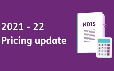 Release of NDIS Pricing Arrangements and Limits